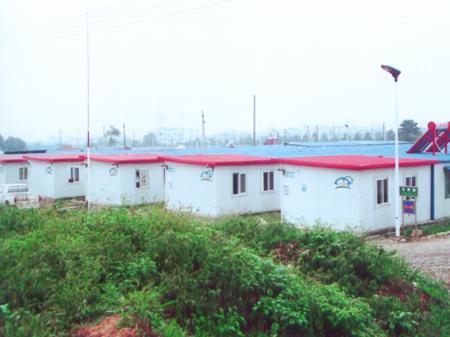 德阳、绵竹、什方地震过渡板房 学校安置房