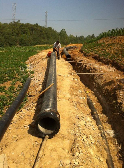 绵阳市自来水公司管网建设